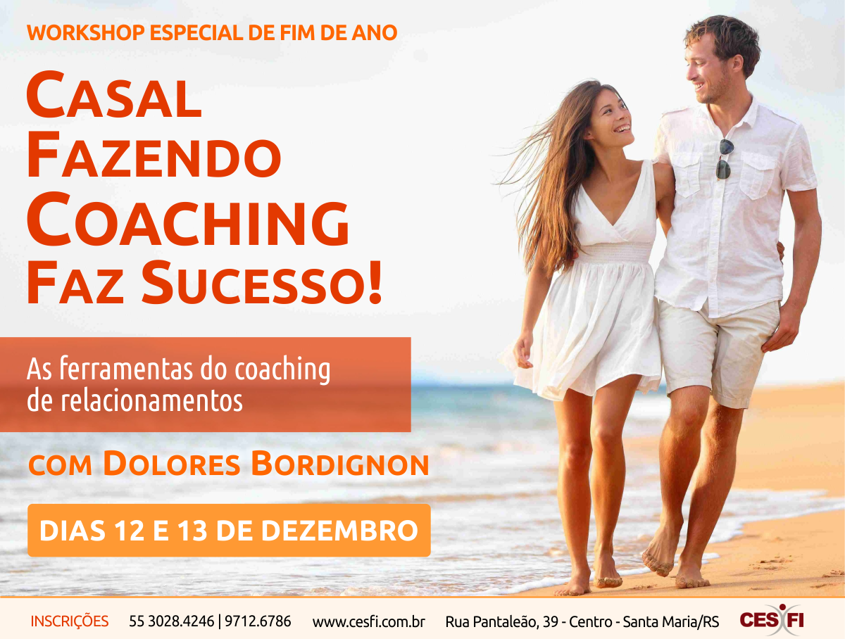 Workshop De Dolores Bordignon, Em Santa Maria, Explora As Ferramentas Do Coaching Para Casais